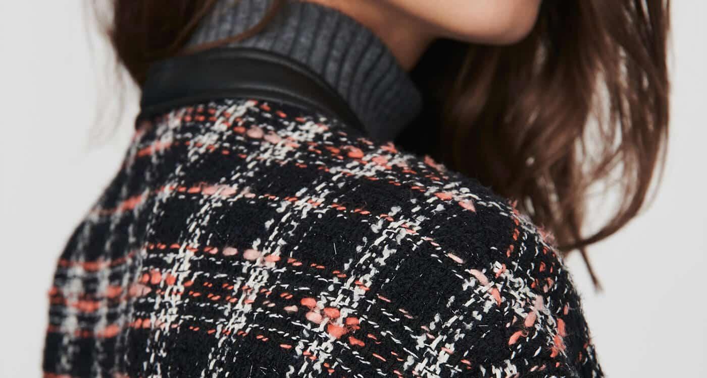 Comment porter une jupe en tweed ?