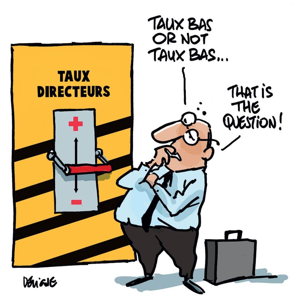 Pourquoi la BCE Pratique-t-elle des taux d'intérêt directeur bas ?